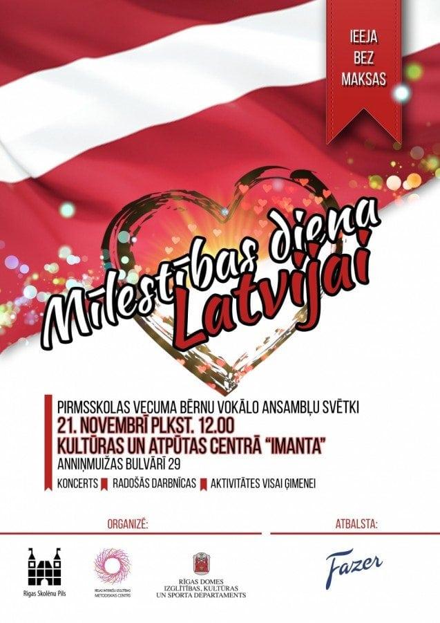 Mīlestības diena Latvijai